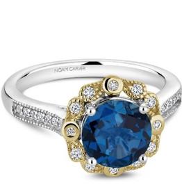 Noam Carver Blue Topaz & Diamonds