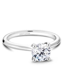 Naom Carver Bridal Engagement Mount White Gold