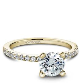 Noam Carver Bridal Diamond Mount Yellow Gold