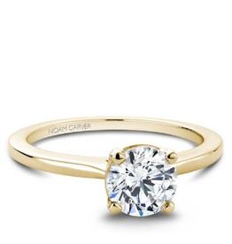 Noam Carver Noam Carver Bridal Mount Yellow Gold