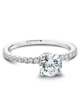 White Gold Diamond Mount (0.34ct)