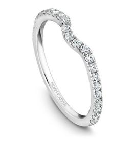 Noam Carver White Gold Diamond Matching Band to B022-01WM