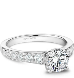Bridal Diamond Mount White Gold