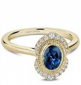 London Bue Topaz & Diamonds