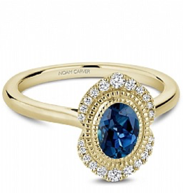 Noam Carver London Bue Topaz & Diamonds