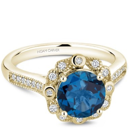 Noam Carver Noam Carver Blue Topaz & Diamonds