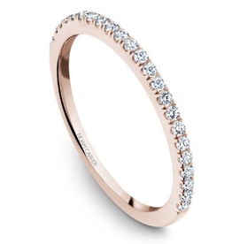 Noam Carver Rose Gold Diamond Wedding Band
