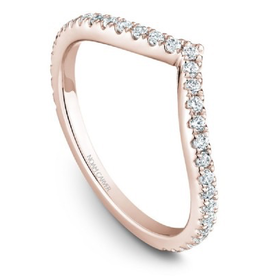 Noam Carver Stackable Diamond Band (0.36ct) 14K Rose Gold