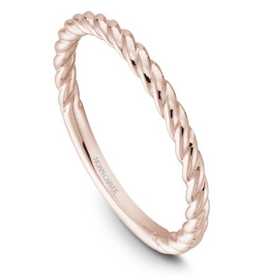 Noam Carver Stackable Rose Gold Band