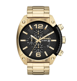Diesel Overflow Watch Gold Tone
