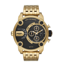 Diesel Diesel Little Daddy Watch Gold and Black Dial