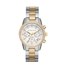 Michael Kors Michael Kors MK6474 Ritz Ladies Two Tone Watch