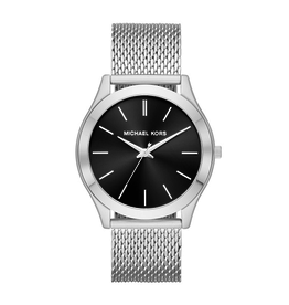 Michael Kors Michael Kors Slim Runaway Black Dial Watch