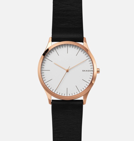 Skagen Skagen Jorn Ladies Black Strap Watch