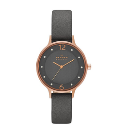 Skagen Skagen Anita Ladies leather Strap Watch