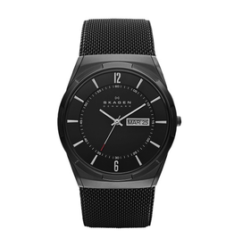 Skagen Skagen Melbye Mens Black Dial Watch