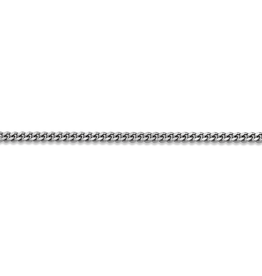 """Curb Chain (2mm) Sterling SIlver 16"""""""