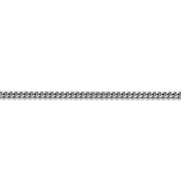 """Curb Chain (2mm) Sterling SIlver 30"""""""