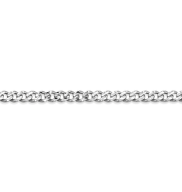 """Curb Chain (3mm) Sterling Silver 24"""""""