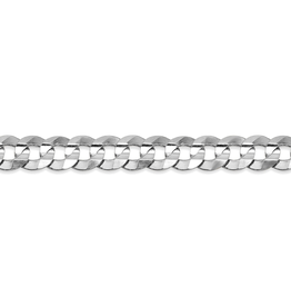 """Sterling Silver 4.7mm Curb Chain 22"""""""