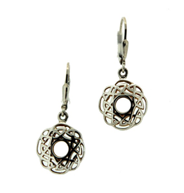 Keith Jack Keith Jack Silver and Yellow Gold Window to the Soul Earrings