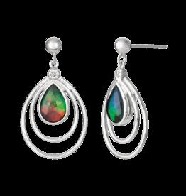 Korite Abigail Ammolite Sterling Silver Earrings