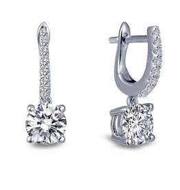 Lafonn Lafonn Dangling Drops earrings in Sterling Silver