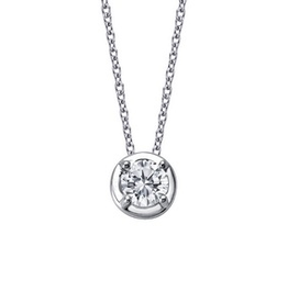 Lafonn Lafonn Simulated Diamond Solitaire Necklace