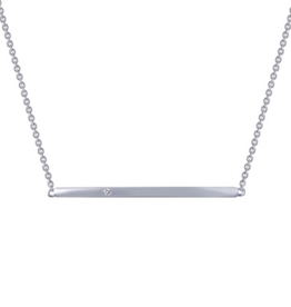 Lafonn Lafonn Straight Bar Simulated Diamond Necklace