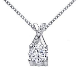 Lafonn Lafonn Round Brilliant Simulated Diamond Necklace