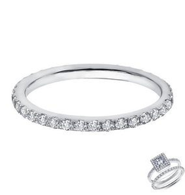 Lafonn Lafonn Eternity Band Set With Simulated Diamonds