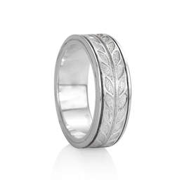 MeditationRings Meditation Ring Hailey Sterling Silver