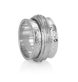 MeditationRings Meditation Ring Essence Sterling Silver