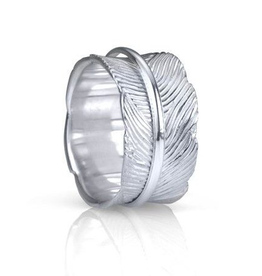 MeditationRings Meditation Ring Terra Sterling Silver