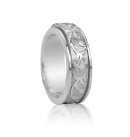 MeditationRings MeditationRings Meditation Ring Rose Sterling Silver