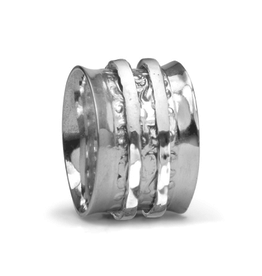 MeditationRings Meditation Ring Dream Sterling Silver