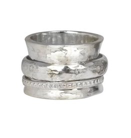 MeditationRings Meditaion Ring Peace Sterling Silver