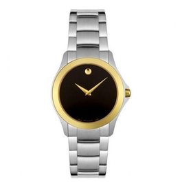 Movado Movado Museum Ladies Two Tone Watch 0605872