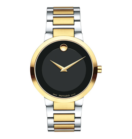 Movado Mens Modern Classic Two Tone Watch