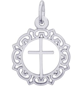 Ornate Border Cross