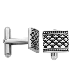 Steelx Stainless Steel Antique Cuff Links