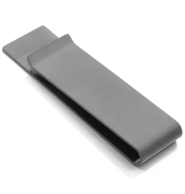 Steelx Steel Black Ion Plated Money Clip