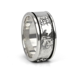 MeditationRings Meditation Ring Spirit Sterling Silver