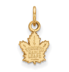 NHL Licensed NHL Licensed Maple Leafs Pendant 10K Yellow Gold (9mm)