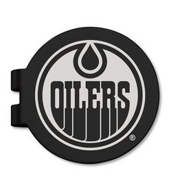NHL Licensed Edmonton Oilers Money Clip Black Stainless Steel