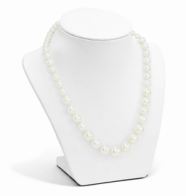 Shell Pearl (6-12mm) Graduated Necklace Sterling Silver Clasp