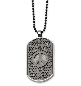 Dog Tag Peace