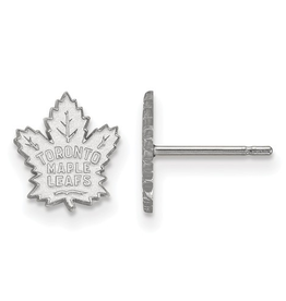 NHL Licensed Sterling Silver Toronto Maple Leafs Stud Earrings