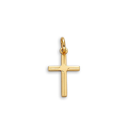 Yellow Gold Plain Cross Pendant