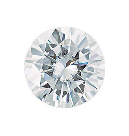 Moissanite 6.5mm Faceted Forever One 1 CARAT